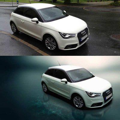 Automotive Image Edit Composite