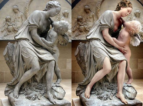 Statue manipulation - Photoshop