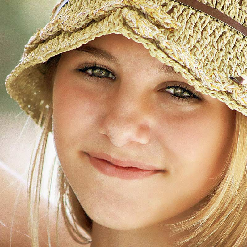 Photoshop: Using the smooth skin action