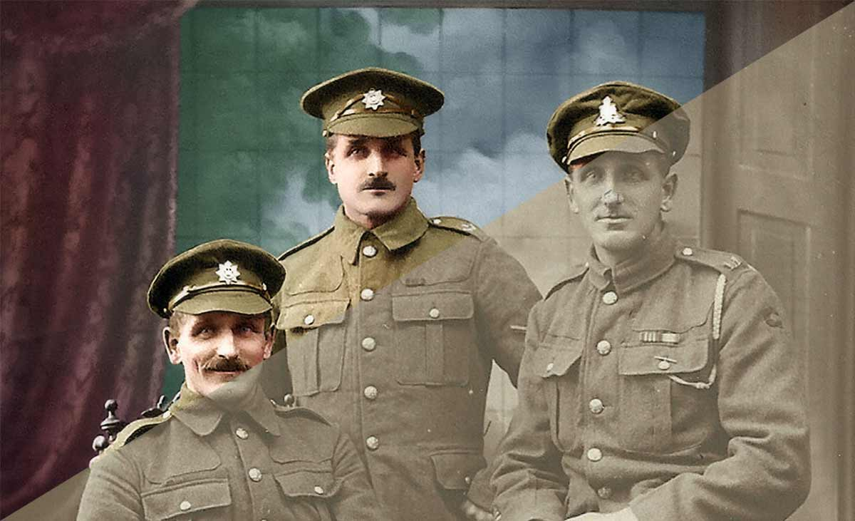Repair and Hand colour Photographs
