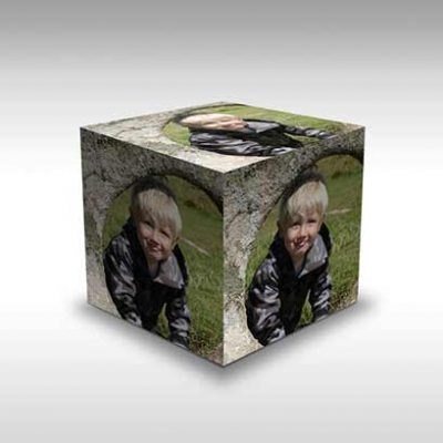 Adobe Photoshop Action - Cube