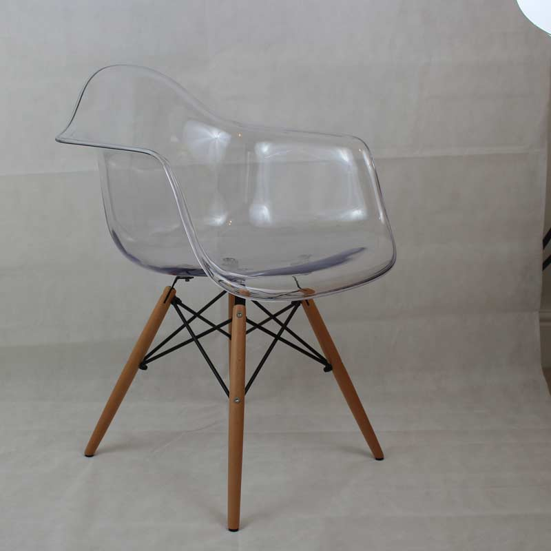 Glass Chair Cut-out After