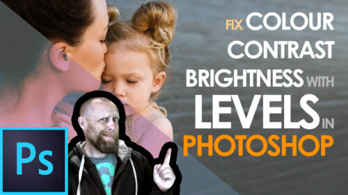 Read more about the article Using Levels to Fix Brightness, Color & Contrast in Photoshop 2021
