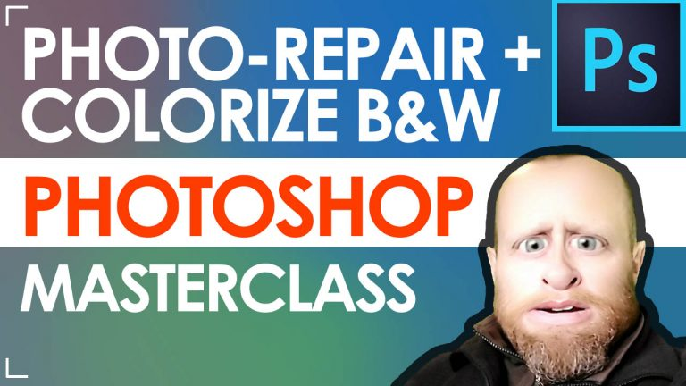 Read more about the article Repairing Photos in Adobe Photoshop 2021 + Adding Color to Black White