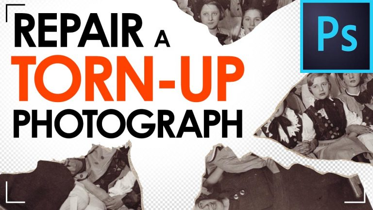 Read more about the article Fixing a torn up Photograph with Photoshop – Image Retouching